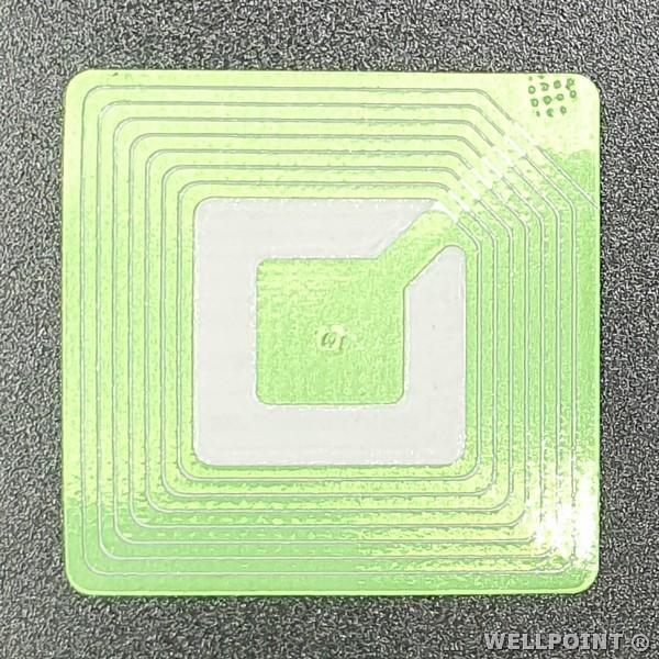 Etichete antifurt flexibile - coduri de bare false - fata hartie - 40x40 mm